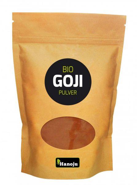 Bio Goji Beeren Pulver (gefriergetrocknet) 100 g im Paperbag