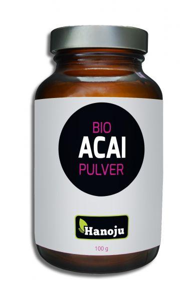 Bio Acai Extrakt Pulver 100 g, im Glasflacon