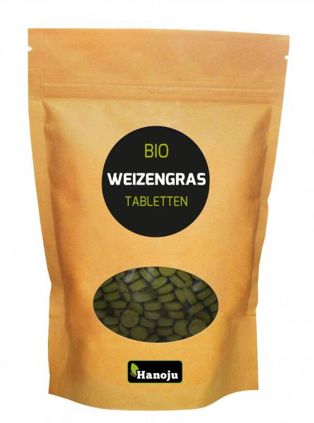 Bio Weizengras 500 Tabletten, 500 mg