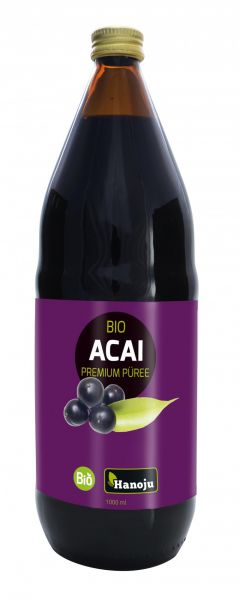 Bio Açai Püree 100%, 4 mal 1000 ml