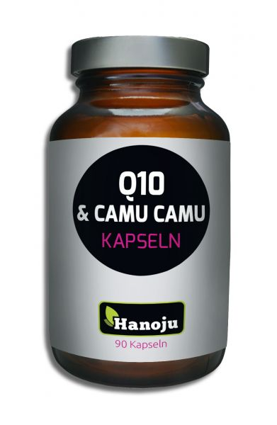 Hanoju Camu Camu 350 mg + Q10 50 mg 90 Kapseln