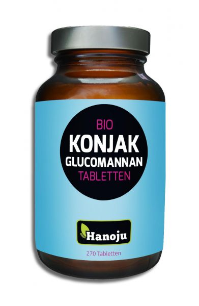 Bio Konjak Glucomannan 490 mg 270 Tabletten