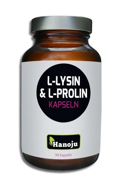 L-Lysin + L-Prolin 480 mg, 90 Kapseln