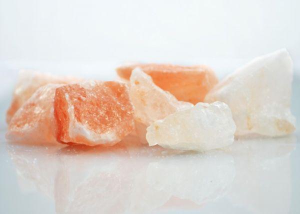 Salzkristall-Stücke 500g aus den Minen der Salt Range in Pakistan