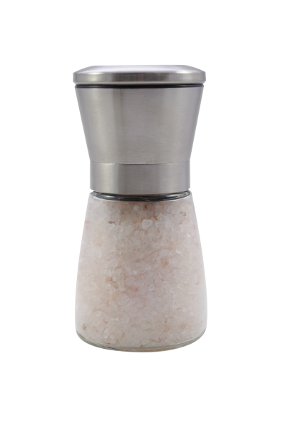 Edelstahl Salz - Mühle (auch für Pfeffer geeignet)