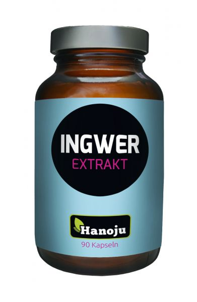 Ingwer Extrakt 400 mg 90 Kapseln