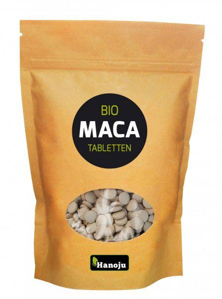 Hanoju BIO MACA Premium 4:1 Pulver 500 mg 2000 Tabletten