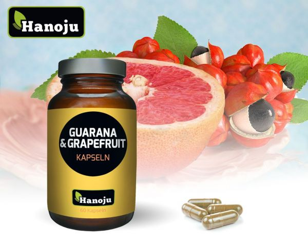 Grapefruit+Guarana 450 mg, 60 Kapseln