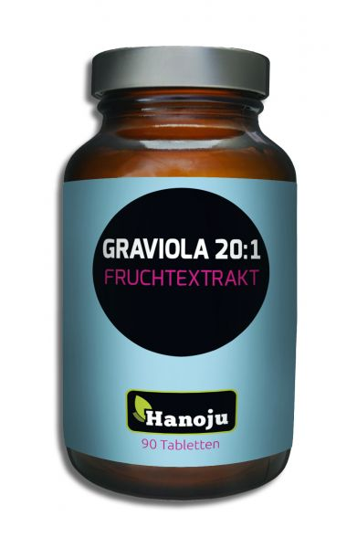 Graviola Fruchtextrakt 450 mg, 90 Tabletten