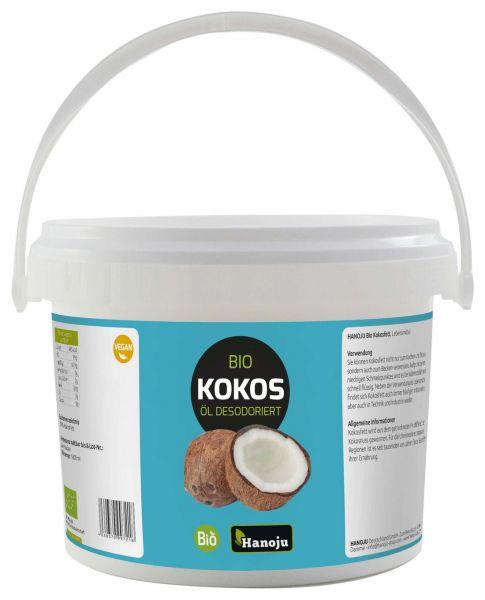 Bio Kokosöl, desodoriert 10 Liter im Eimer