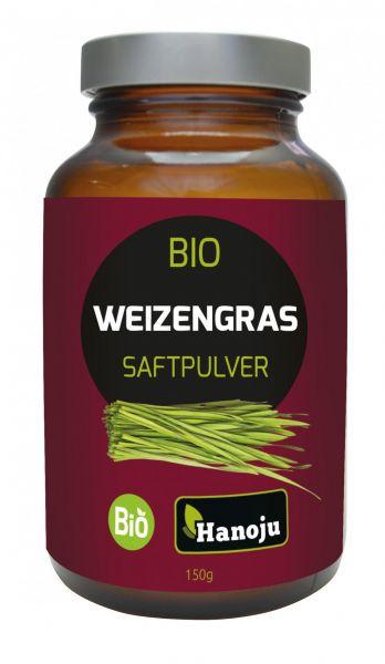 Bio Weizengrassaft-Pulver 150 g Glasflacon