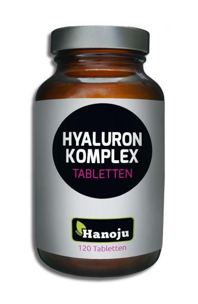 Hanoju Hyaluron Komplex Hyaluronsäure HOCHDOSIERT 120 Tabletten
