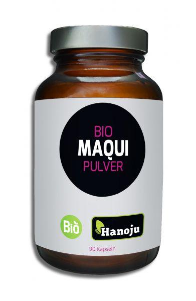 Bio Maqui Pulver 500 mg, 90 Kapseln