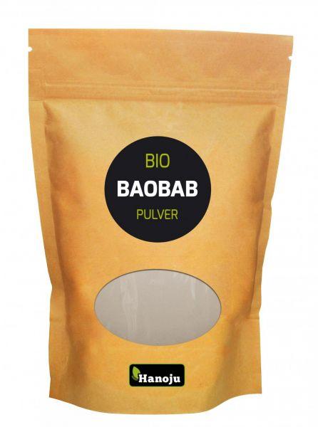 Hanoju Bio Baobab Pulver 100g im Paperbag