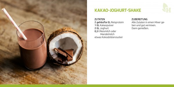 Kakao-Joghurt-Shake