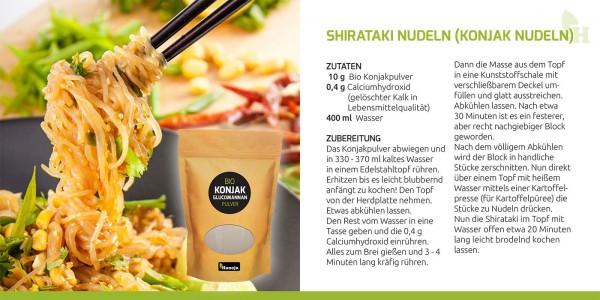 Shirataki-Nudeln