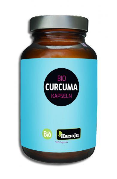 Bio Kurkuma (Curcuma) Pulver 400 mg, 180 Kapseln