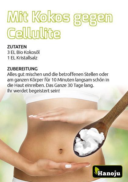 Kokos-gegen-Cellulite