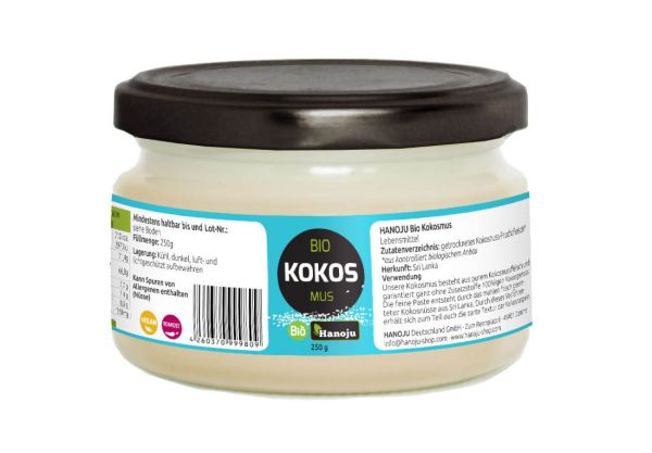 Organic Coconut cream 250 g