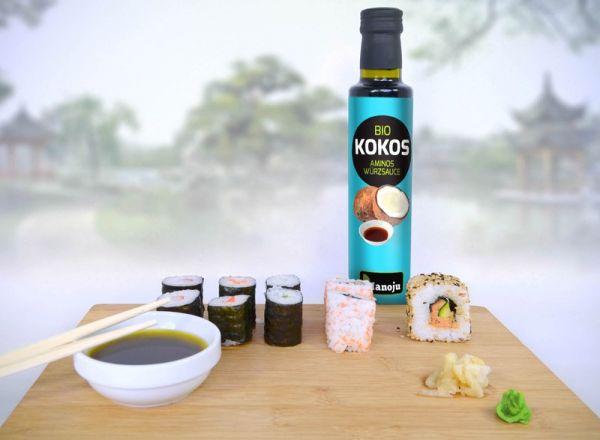 Bio Kokos Aminos Würzsauce 500 ml