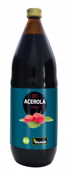 Hanoju Bio Acerola Püree 1000 ml