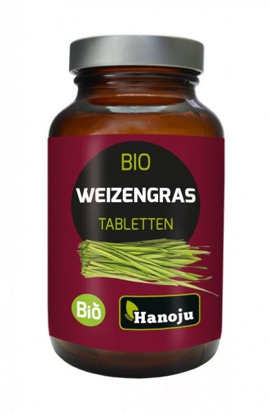 Bio Weizengras 180 Tabletten, 500 mg