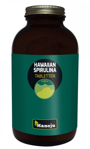 Hanoju Hawaiian Spirulina 500 mg 650 Tabletten