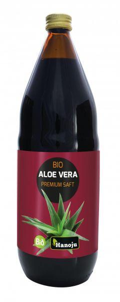 Bio Aloe Vera Premium Saft mit 30% Fruchtfleisch 1000 ml
