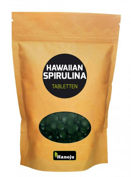 Hawaiian Spirulina 500 mg 1000 Tabletten