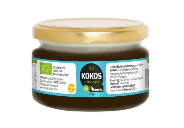 Bio Kokosblütensirup, 250 g im Glas