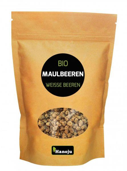 Weisse Bio Maulbeeren 150 g im Paperbag