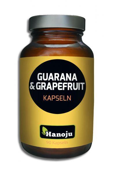 Hanoju Grapefruit + Guarana  450 mg 90 Kapseln