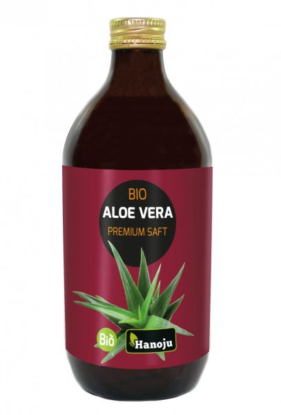 Bio Aloe Vera Premium Saft mit 1200 mg Aloverose 500 ml