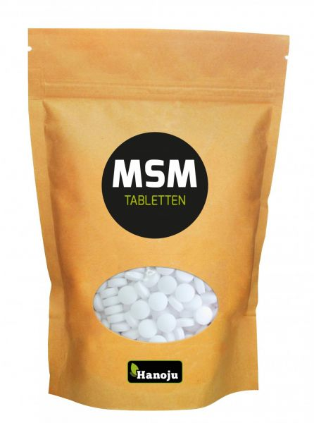 MSM Tabletten 750 mg im Paperbag, 1000 Tabletten 750 g