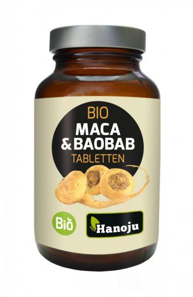Bio Maca 250 mg + Bio Baobab Pulver 250 mg, 300 Tabletten