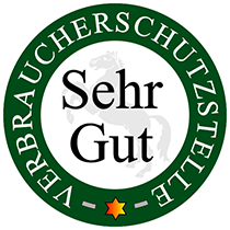 Verbraucherschutzstelle - Sehr Gut