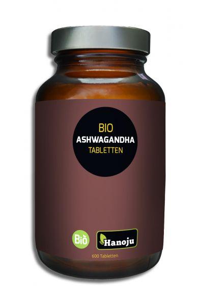 Bio Ashwagandha Schlafbeere 500 mg, 600 Tabletten