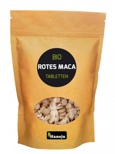 Hanoju Rotes Bio Maca 500 mg 500 Tabletten