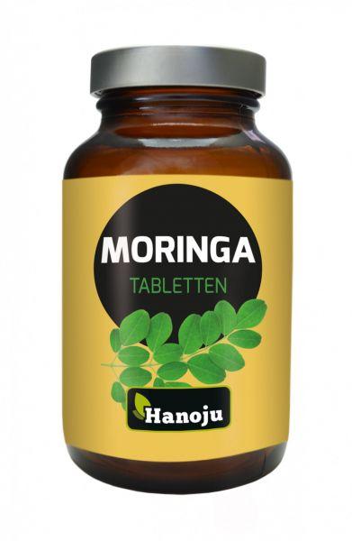 Moringa Ganzblattpulver 500 mg, 600 Tabletten