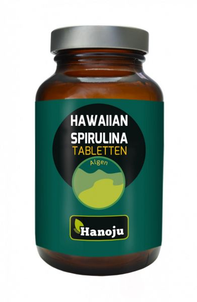 Hanoju Hawaiian Spirulina 500 mg 250 Tabletten