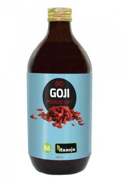 Bio Goji Premium 100% Saft, 500 ml