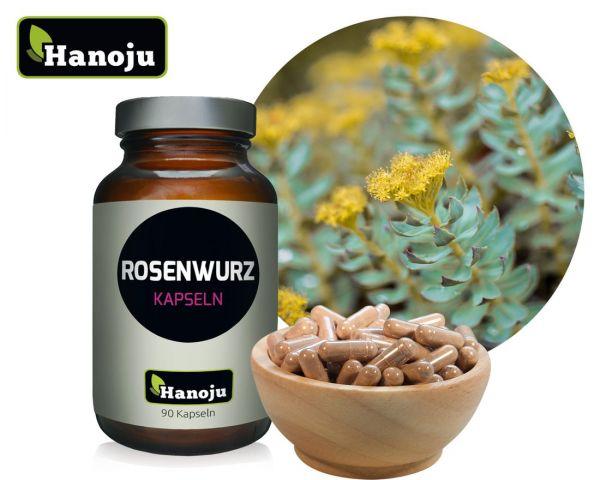 Rhodiola Rosea (Rosenwurz) 400 mg, 90 Kapseln
