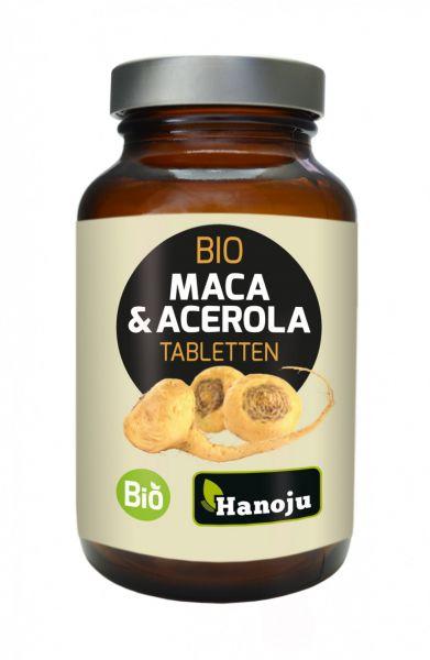 Bio Maca 250 mg + Bio Acerola Pulver 250 mg, 300 Tabletten