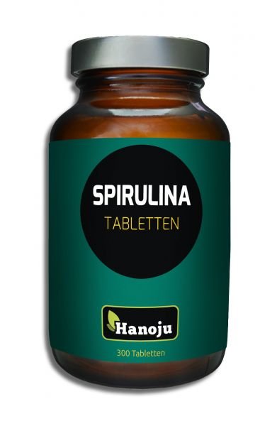 Spirulina Premium 400 mg 300 Tabletten