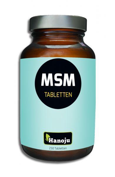 Hanoju MSM 750 mg, 250 Tabletten